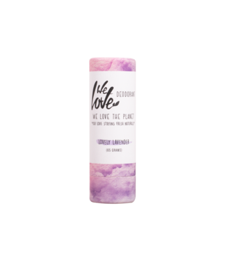 WE LOVE THE PLANET •• Lovely Lavender - deodorant  stick