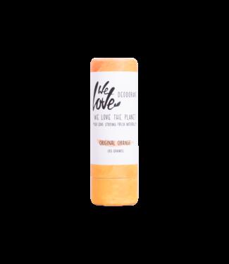 WE LOVE THE PLANET •• Original Orange deodorant  stick