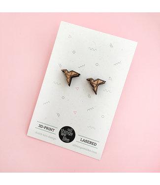 ALL THINGS WE LIKE Wooden Earring Crane