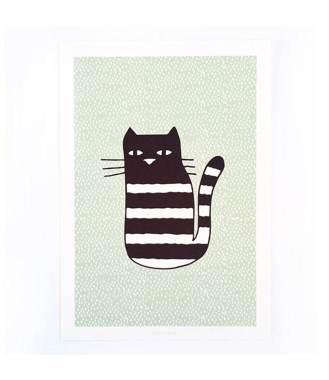 ALL THINGS WE LIKE Print Cat