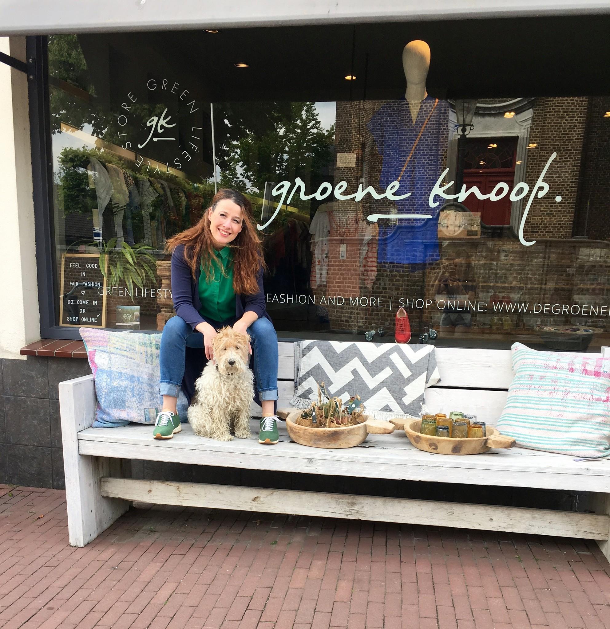 De Groene Knoop - Green Lifestyle Store & owner
