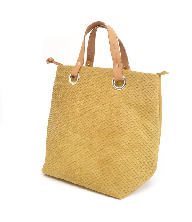 BARBAROSSA Leren Shopper Lemon Tree