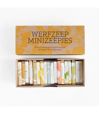 WERFZEEP Cadeaudoos met 18 minizeepjes