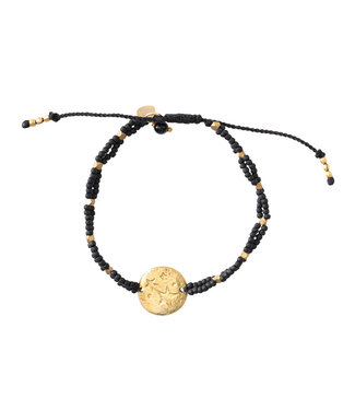 A BEAUTIFUL STORY Gratitude Black Onyx Gold