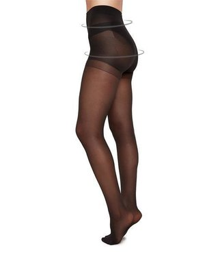 SWEDISH STOCKINGS •• Panty Anna Control Top Charcoal