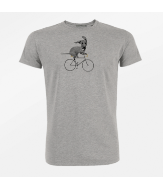 GREENBOMB Shirt Bike Sausage Dog