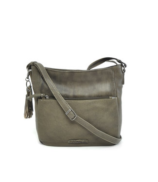 Berba Leren dames cross-shoulder tas Scotch | 375-054