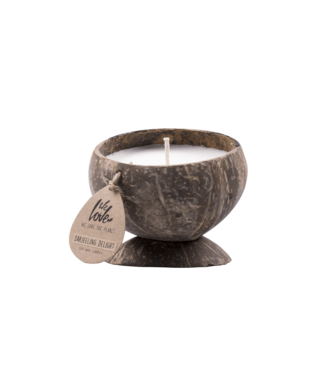 WE LOVE THE PLANET Coconut candle Sweet Senses