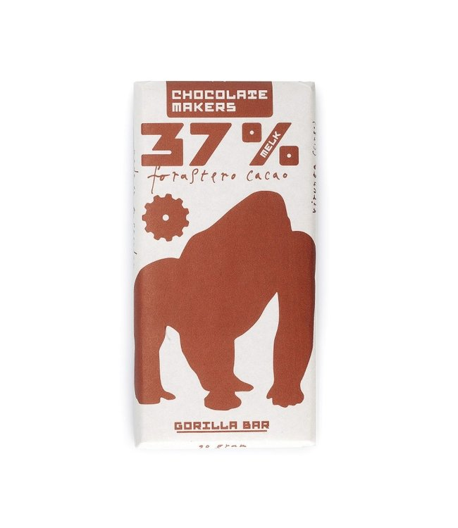 Chocolate Makers Gorilla Bar Melk 37%