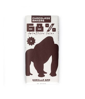 Chocolate Makers Gorilla Bar Puur 68%