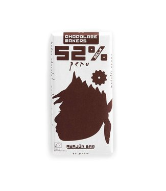 Chocolate Makers •• Awajun Donkere Melk 52%