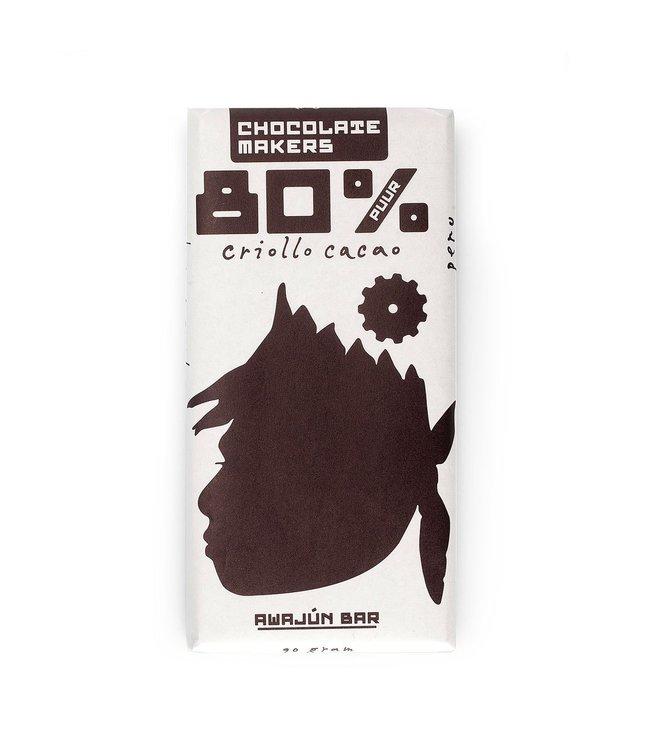 Chocolate Makers Awajun Puur 80%