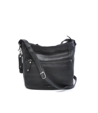 Berba LEREN DAMES CROSS-SHOULDER TAS SCOTCH• black