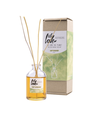 WE LOVE THE PLANET •• Natuurlijke Diffuser Light Lemongrass
