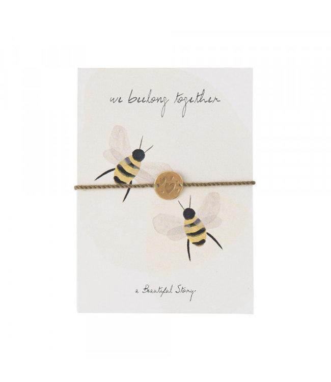 A BEAUTIFUL STORY •• Sieraden Ansichtkaart Bijen