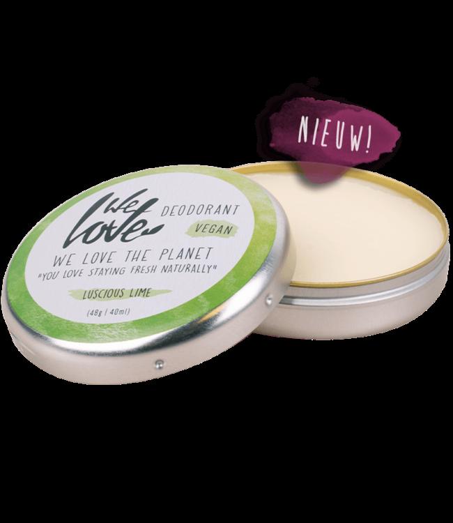 WE LOVE THE PLANET •• Luscious Lime - Natuurlijke deodorant