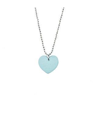 ALL THINGS WE LIKE •• Porcelain heart blue