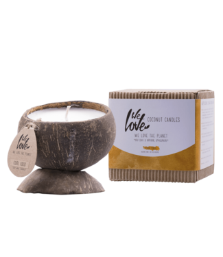 WE LOVE THE PLANET •• Coconut candle Cool Coco