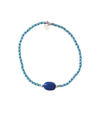 A BEAUTIFUL STORY •• Armband Summer Lapis Lazuli