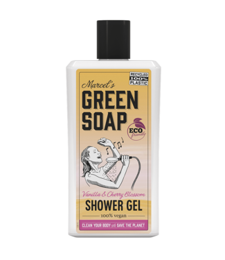 Marcel's Green Soap •• Shower gel Vanille & Kersenbloesem