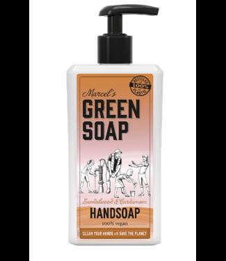 Marcel's Green Soap •• HANDZEEP SANDELHOUT & KARDEMOM (500ML)