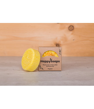 HappySoaps •• Chamomile Down & Carry On Shampoo Bar