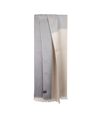 Bufandy •• Shawl Brushed Ombre Winter Pearl