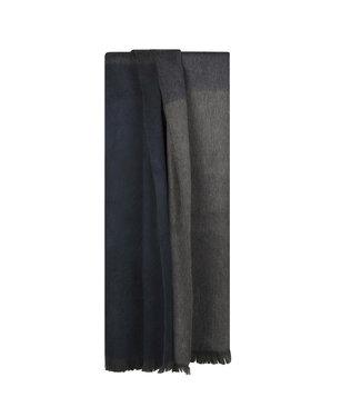 Bufandy •• Shawl Brushed Ombre Slate Blue