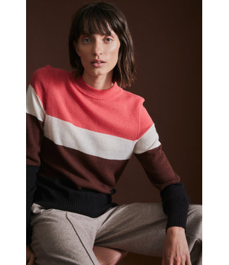 LANIUS •• Colourblock Pullover