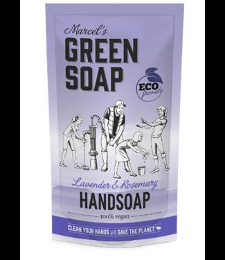 Marcel's Green Soap •• Handzeep navulzak Lavendel & Rozemarijn