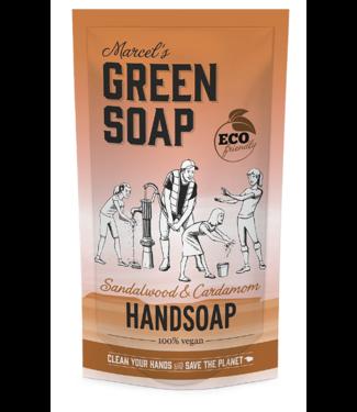 Marcel's Green Soap ••Handzeep navulzak Sandelhout & Kardemom
