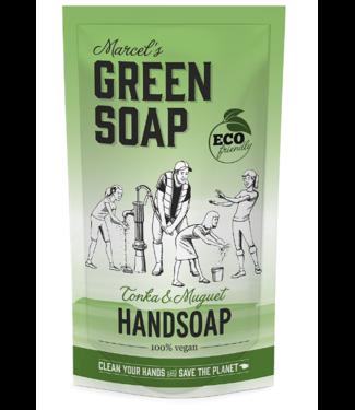 Marcel's Green Soap •• Handzeep navul stazak TONKA & MUGUET
