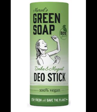 Marcel's Green Soap •• DEODORANT TONKA & MUGUET