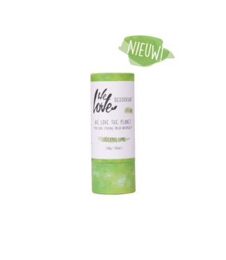 WE LOVE THE PLANET •• Luscious Lime - deodorant  stick
