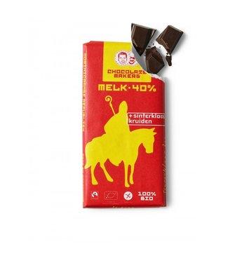 Chocolate Makers •• Bio Sinterklaas bar melk 40%