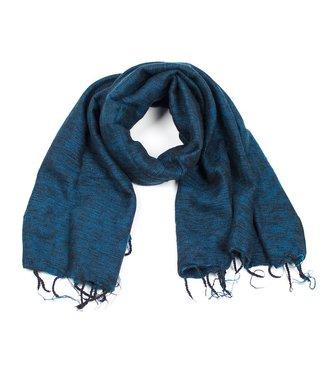 sjaal met verhaal •• Sjaal Petrol