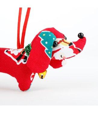 SJAAL MET VERHAAL  ••Kerstteckel Santa Snow