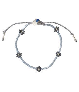 A BEAUTIFUL STORY •• Armband Sunshine Lapis Lazuli zilver