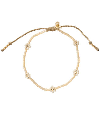 A BEAUTIFUL STORY •• Armband Sunshine Citrien goud