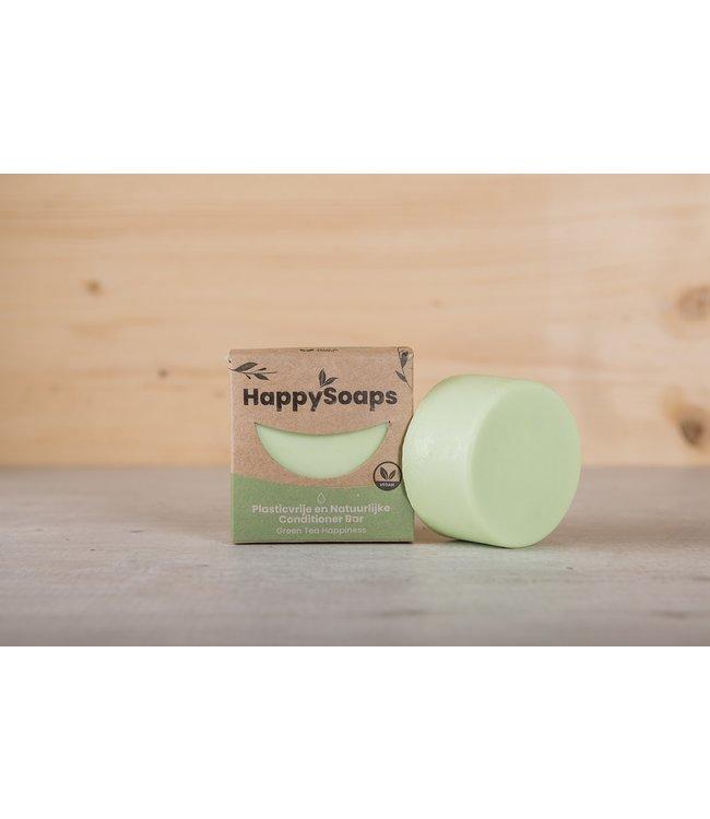 HappySoaps •• Green Tea Happiness Conditioner Bar