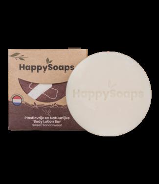 HappySoaps •• Body Lotion Bar - Sandalwood