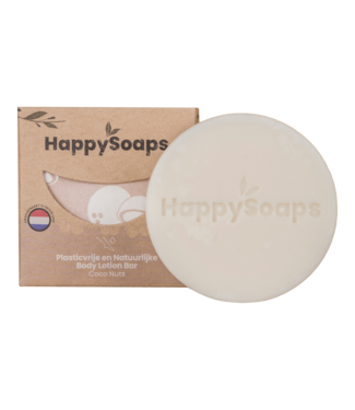 HappySoaps •• Body Lotion Bar – Coco Nuts