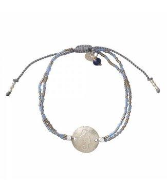 A BEAUTIFUL STORY •• Armband Daydream Lapis Lazuli zilver