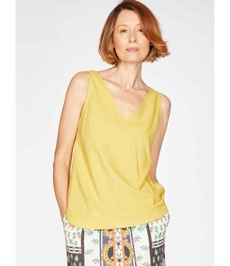 THOUGHT  •• Top Imogen Cami Lemon Yellow