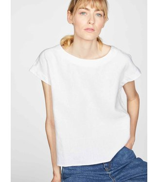 THOUGHT  •• Erin Woven Short Sleeve Top