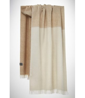 Bufandy •• Shawl Brushed Ombre Coral Peach