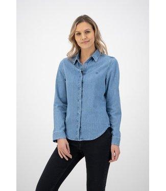 MUD Jeans •• Betty Denim Shirt | Stone Blue