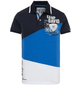 Camp David Camp David ® Poloshirt Tricolor