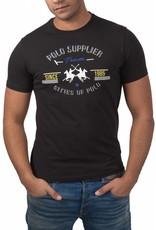 La Martina ® T-Shirt Schwarz, Polo Supplier