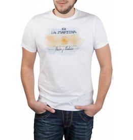 La Martina La Martina ® T-Shirt Weiß, Buenos Aires